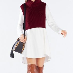 BcbgMaxAzria Casia cropped sweater